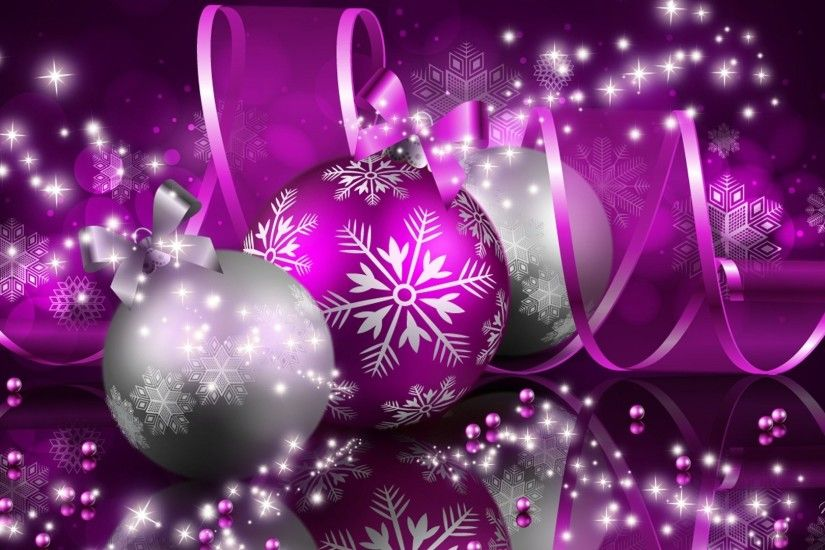 Pink Christmas Ornaments Wallpaper Pink Christmas Backgrounds - Wallpaper  Cave ...