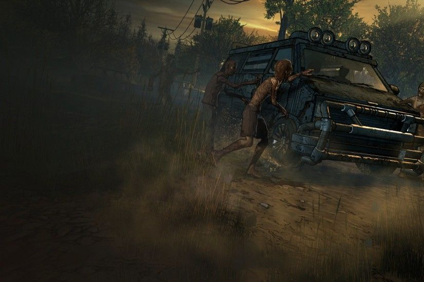 Video Game - The Walking Dead: A New Frontier Wallpaper