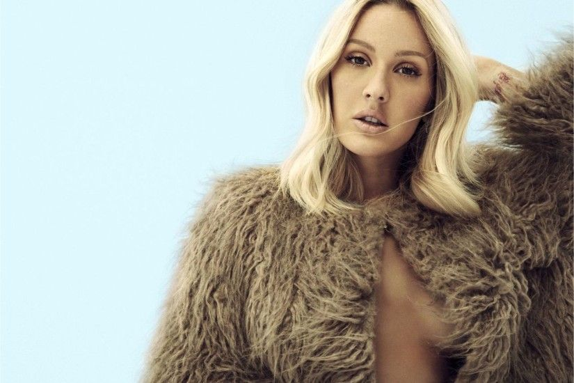 Free Download Ellie Goulding 4K Wallpaper