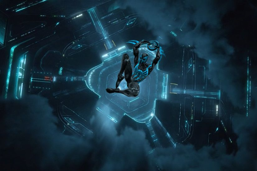 ... Tron Legacy Spider-Man 2099 by saltso
