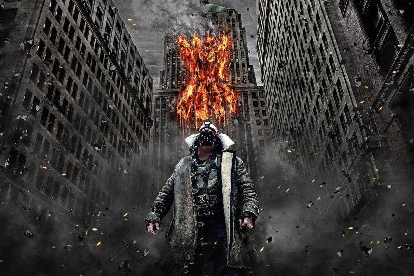 The Dark Knight Rises Bane HD Desktop Wallpaper High Definition