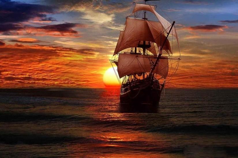 Download Free Pirate Background.