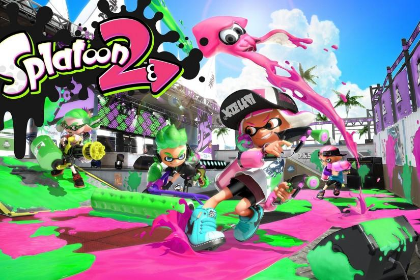 free download splatoon wallpaper 1920x1080 photo