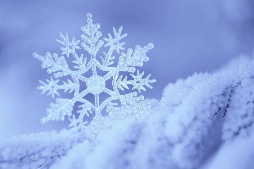 Preview wallpaper snow, snowflake, winter, form, pattern 3840x2160