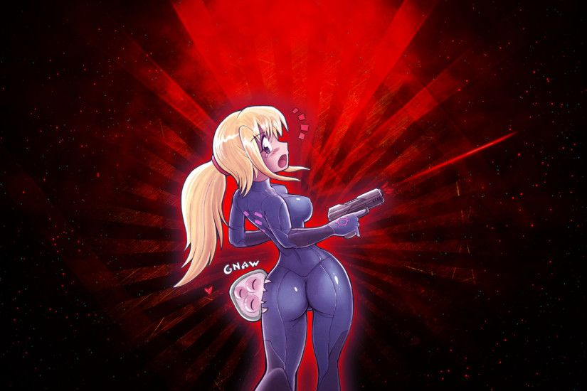 ... Zero suit samus (red) by Kizankun