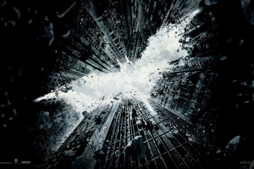 'The Dark Knight Rises' Wallpapers: Decorate Your Desktop, Batman Style
