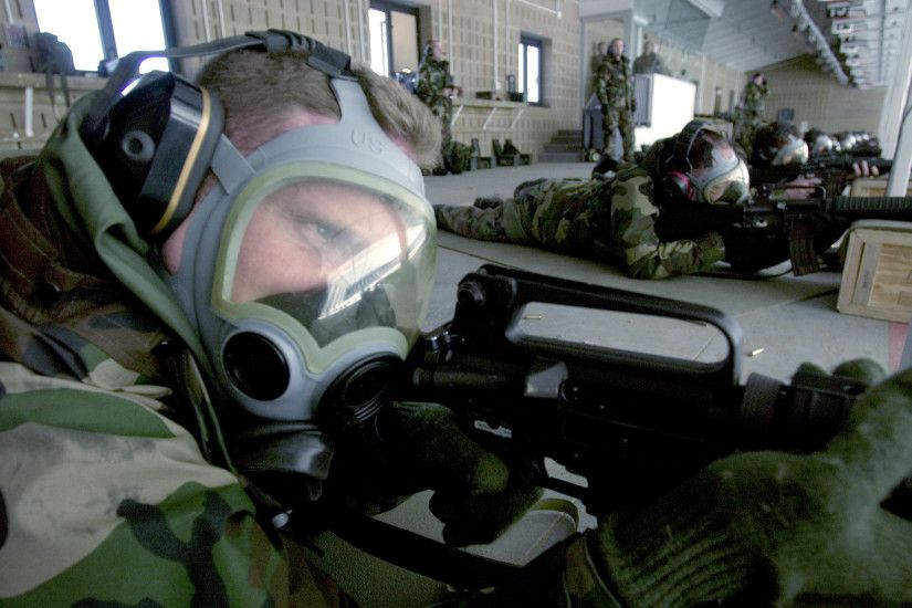 File:USAF gas mask weapons training.jpg