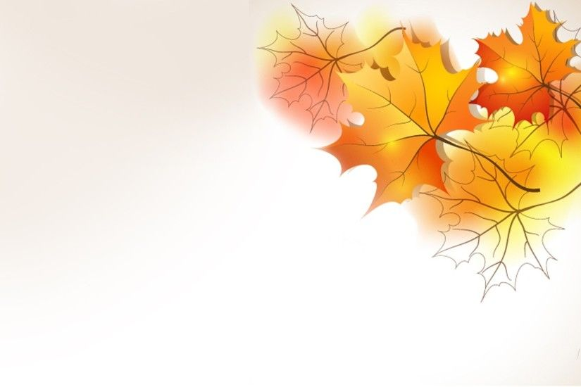 Autumn Simple Leaves Colorful Orange Maple Fall Theme Firefox Persona  Vector Desktop Images - 1920x1080