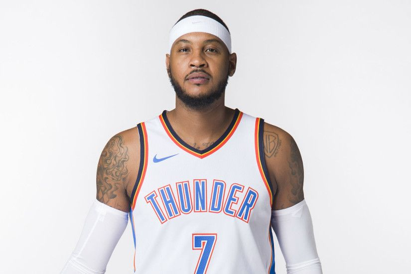 Carmelo Anthony will start at power forward for Thunder | NBA | Sporting  News