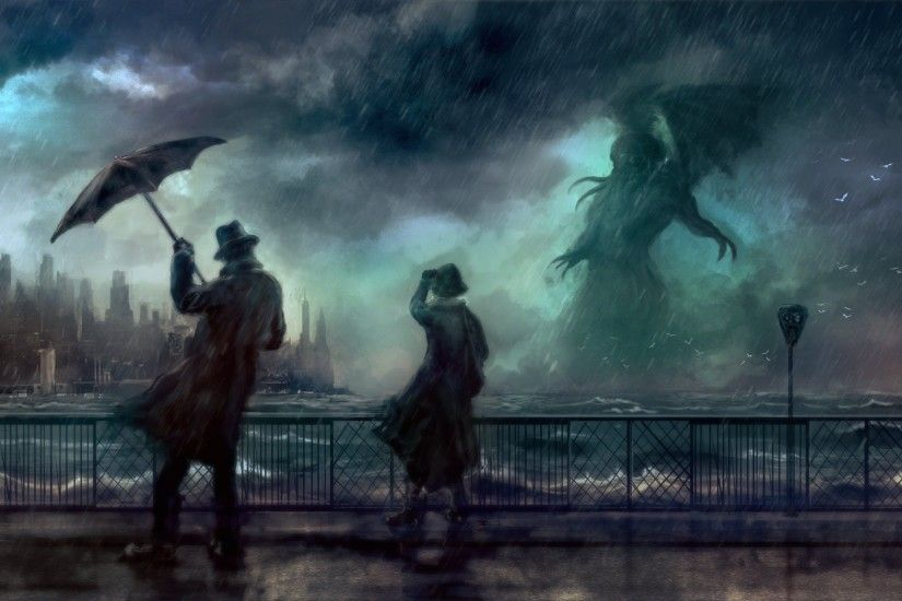 ... artwork cthulhu wallpapers hd desktop and mobile backgrounds ...