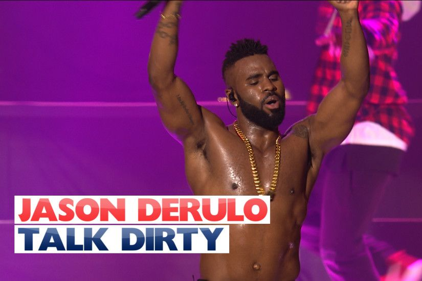 Jason Derulo - 'Talk Dirty' (Live At Capital's Jingle Bell Ball 2015) -  Capital