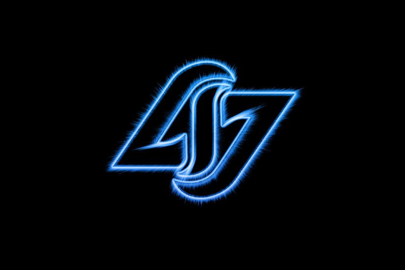 CLG | Counter Logic Gaming Black Wallpaper