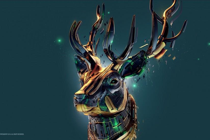 free deer wallpaper 2560x1440 ipad retina