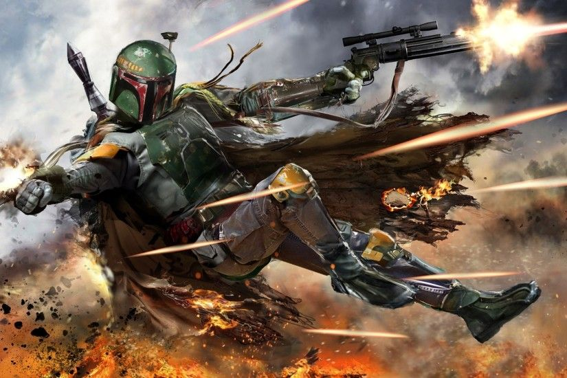 Boba Fett Wallpapers HD - WallpaperSafari