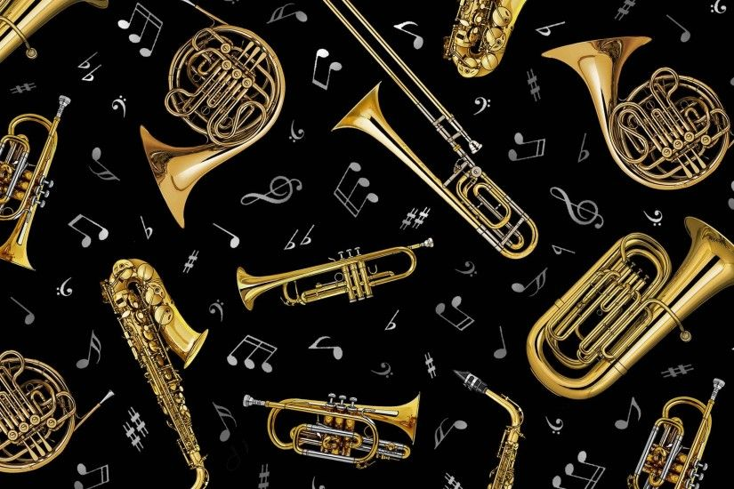 Trombone Wallpaper - Wallpapers Browse