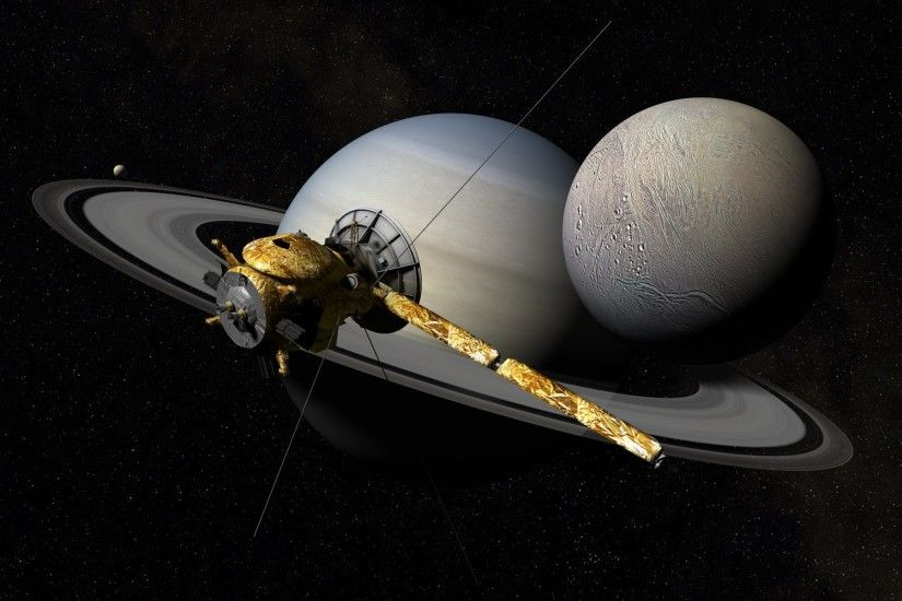 cassini - huygens automatic spacecraft saturn space star