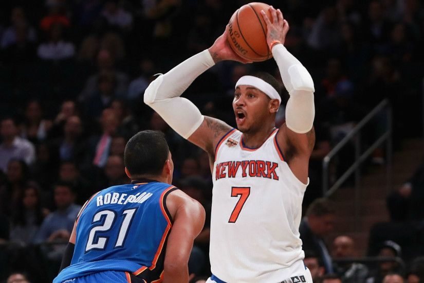 NBA trade rumors: Five reactions to Thunder snagging Carmelo Anthony in  deal with Knicks | NBA | Sporting News