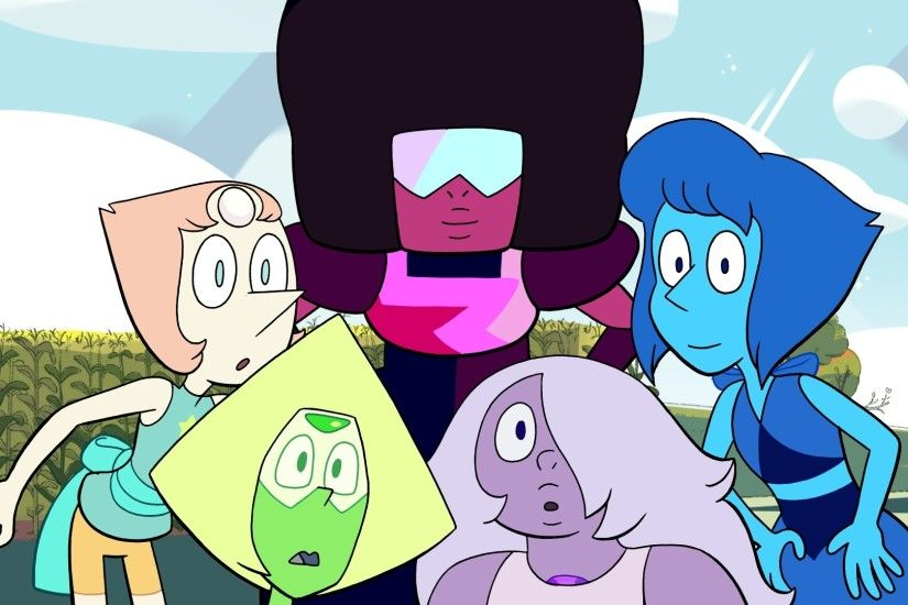 It's always nice to see a happy picture of all the Earth Gems together.