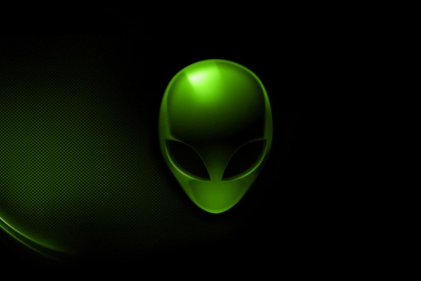 Black Alienware Wallpaper Green Alienware Hd Wallpaper