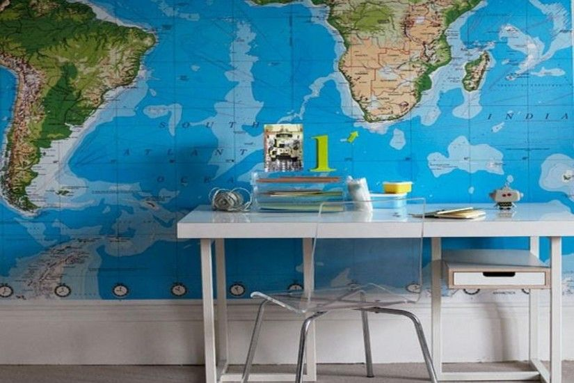 1920×1440-world-map-wallpaper-for-study-room-walls