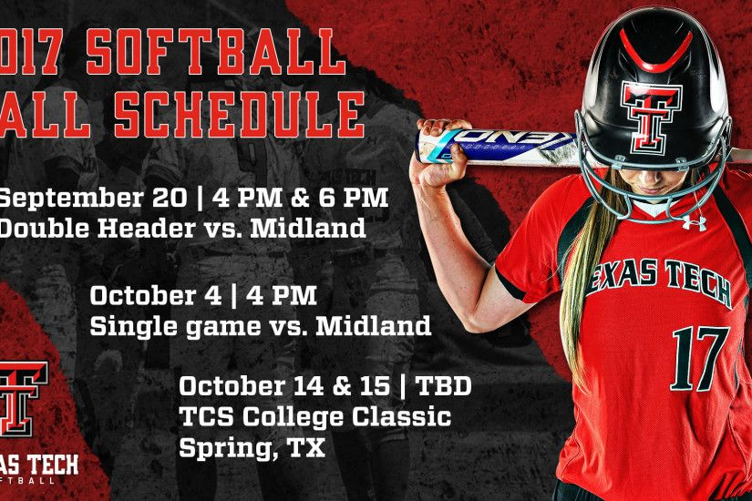 Softball Announces 2017 Fall Schedule