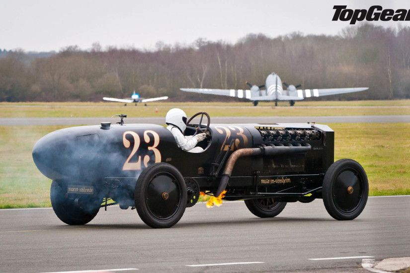 The Stig driving BMW Brutus Bomber 1917 - Top Gear 1920x1200 wallpaper