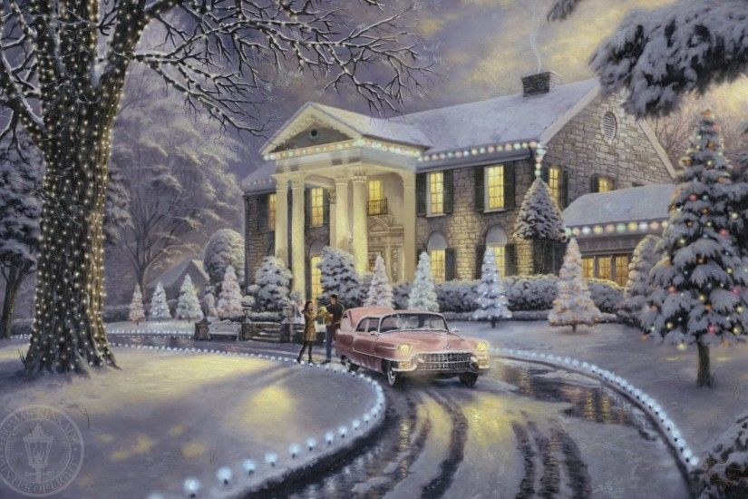 The Work of Thomas Kinkade / Graceland Christmas - 2008