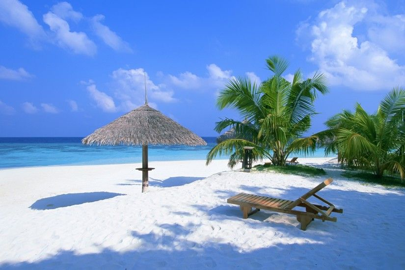 Exotic Paradise Wallpaper Beaches Nature