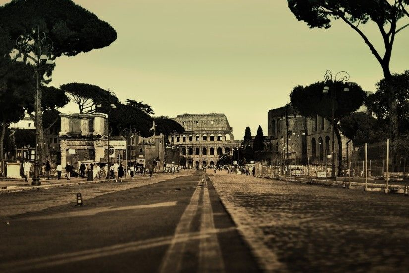 Ancient Rome Via dei Fori Imperiali