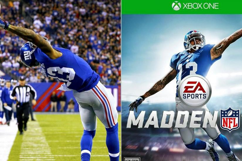 Odell Beckham Jr. Makes Another One-Handed Catch in Madden 16 Trailer -  Video Dailymotion