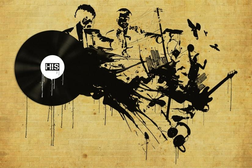 Music Graffiti Wallpaper