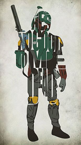 ... $100.00 Free Download Boba Fett iPhone 5 Wallpaper | PixelsTalk.