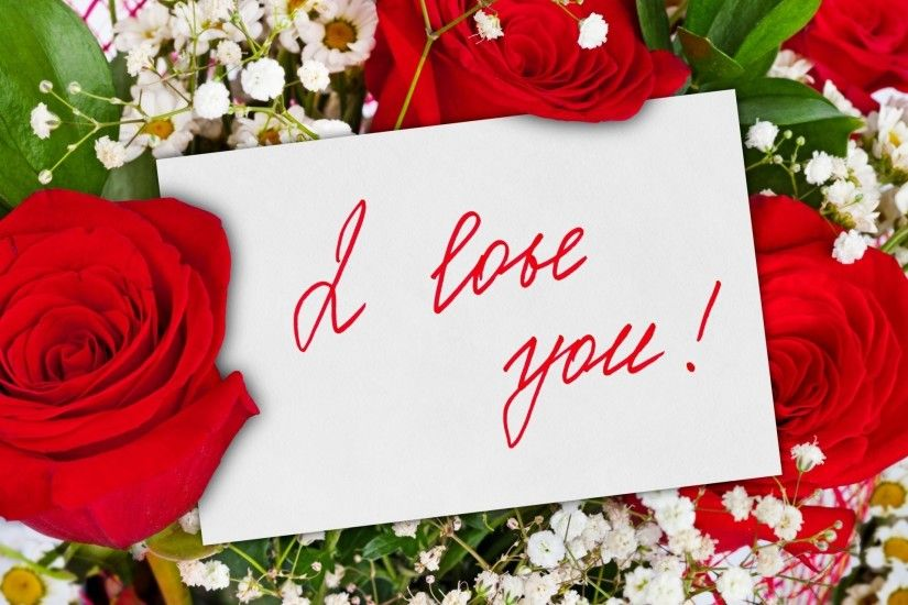 Flowers Rose Wallpaper I Love You Flower Flowers Rose Roses Bouquet Red  Roses Beautiful Cool Nice