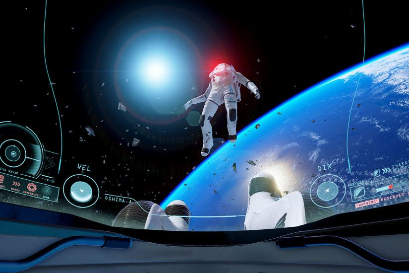Oculus launch-exclusive Adr1ft nows lets you get lost in space on HTC Vive  | TechCrunch