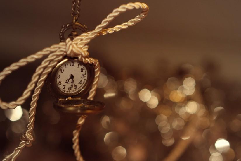 Watch Time Bokeh Rope clock wallpaper | 2880x1800 | 45587 | WallpaperUP