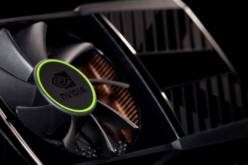 Preview wallpaper nvidia, company, vga, cooler, black, green 2560x1440