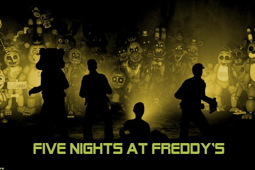 five nights at freddys wallpaper 1920x1080 high resolution