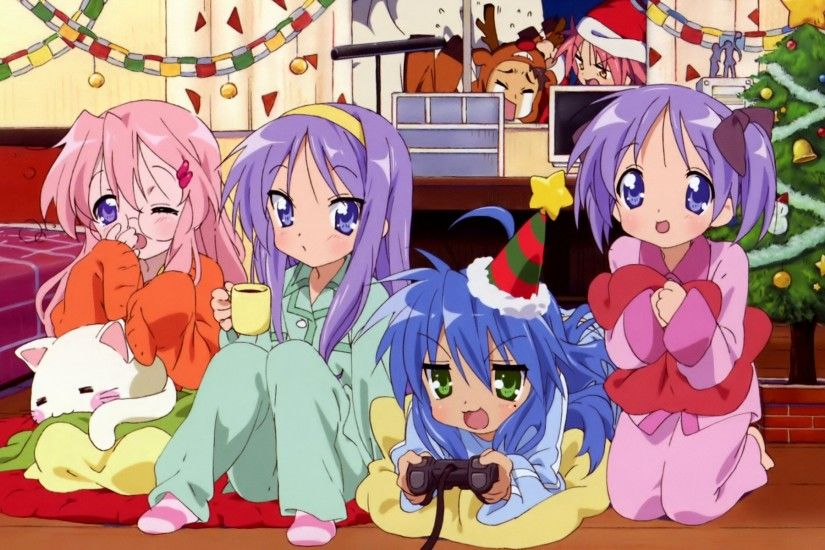 ... anime lucky star wallpapers desktop phone tablet awesome ...