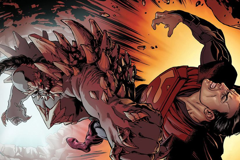 Superman vs Doomsday Wallpaper - Wallpapers Browse ...