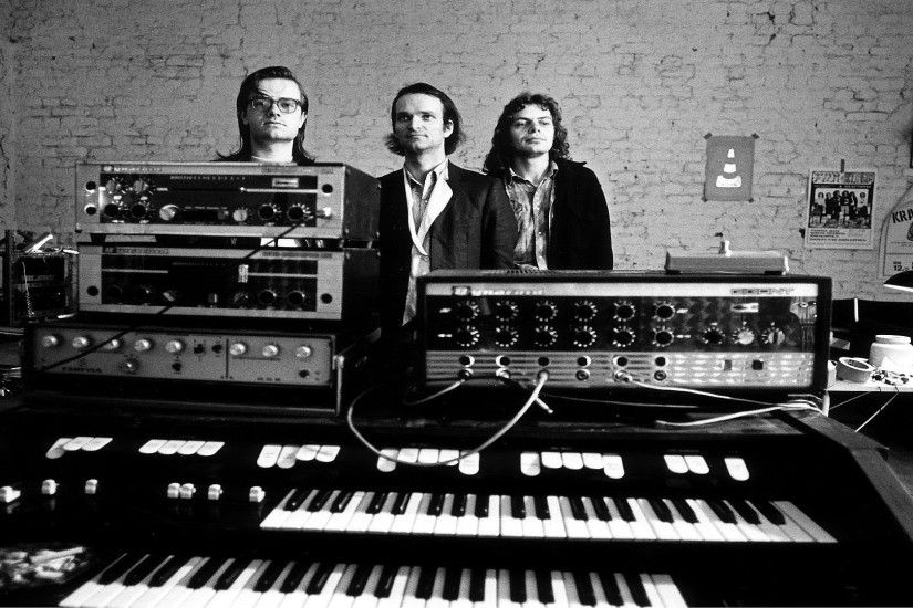 In 1970, the year the band formed, Kraftwerk performed their first concert,  appearing in Soest, West Germany, dressed in long hair and leather.