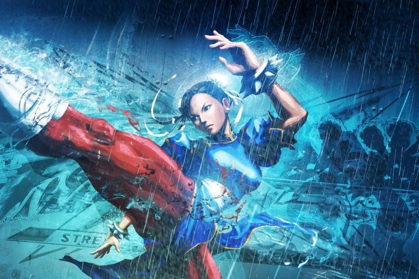 2560x1080 Wallpaper street fighter x tekken, girl, chun-li, legs, fighter