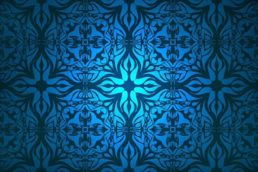 Free Blue Pattern Background For Download