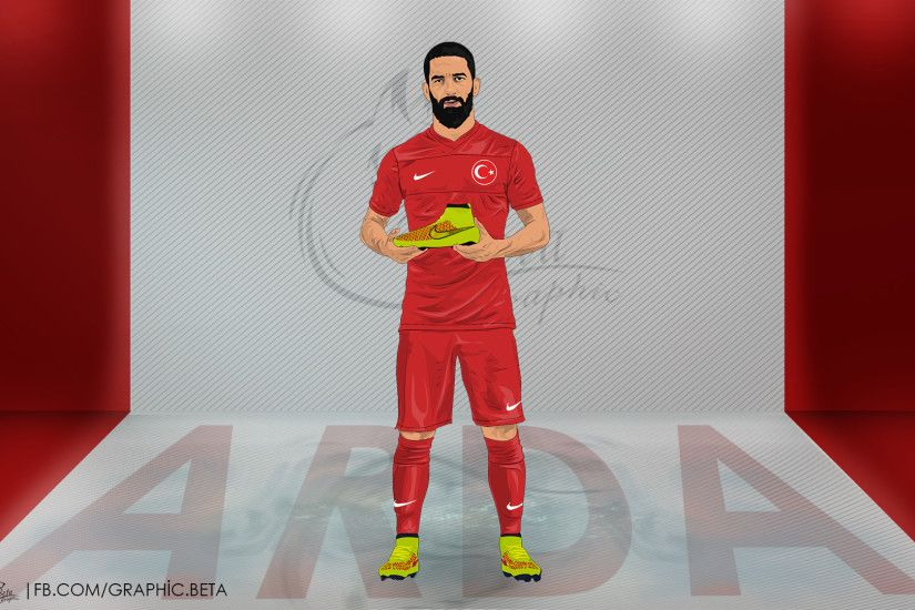 Arda Turan Vector Wallpaper by betagrphc Arda Turan Vector Wallpaper by  betagrphc