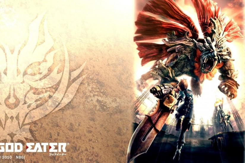 Dark Aquamarine: God Eater Official Wallpapers (UPDATE)