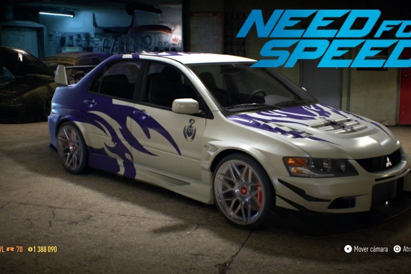 Need For Speed - Speed Paint #5 Mitsubishi Lancer Evolution MR NFS Carbon  Scorpios - YouTube