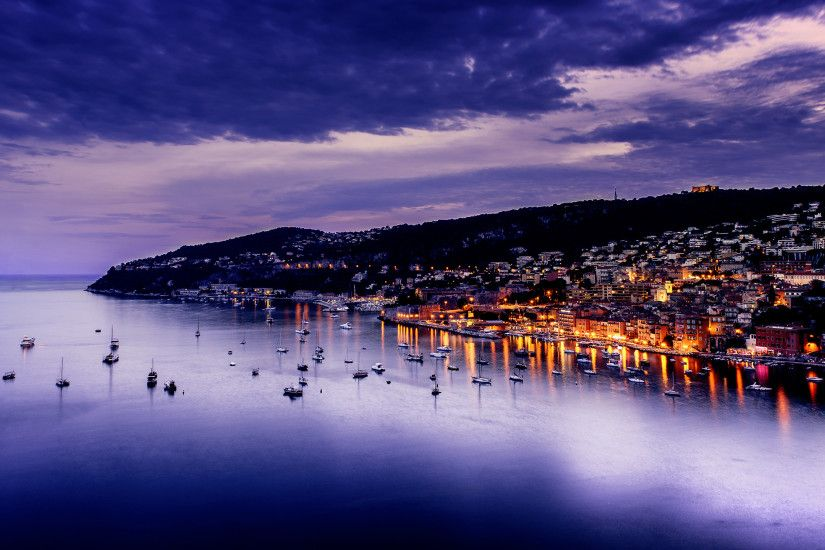 Purple Sunset Villefranche