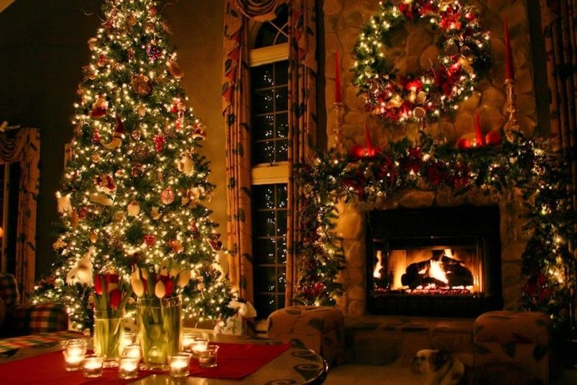 Christmas Holiday Decorations Desktop Wallpaper