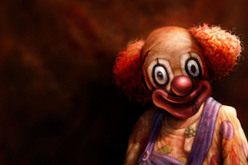 Free clown wallpaper to whoever wants it. I know how much Imgurians love  clowns.