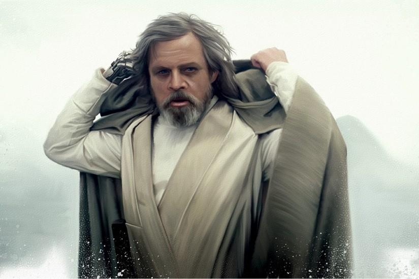 General 1920x1080 Star Wars Jedi Mark Hamill Luke Skywalker fan art