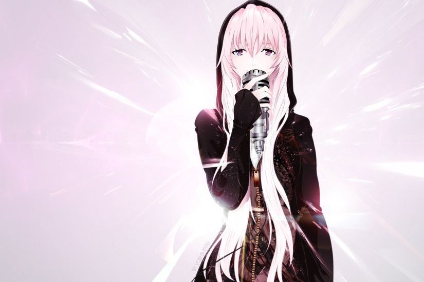 Luka Megurine wallpaper by Kackemon Luka Megurine wallpaper by Kackemon